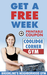 Get a Free Week at the Coolidge Corner Gym
